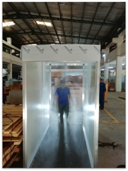 Human Disinfection Tunnel